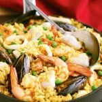 Emersons seafood paella